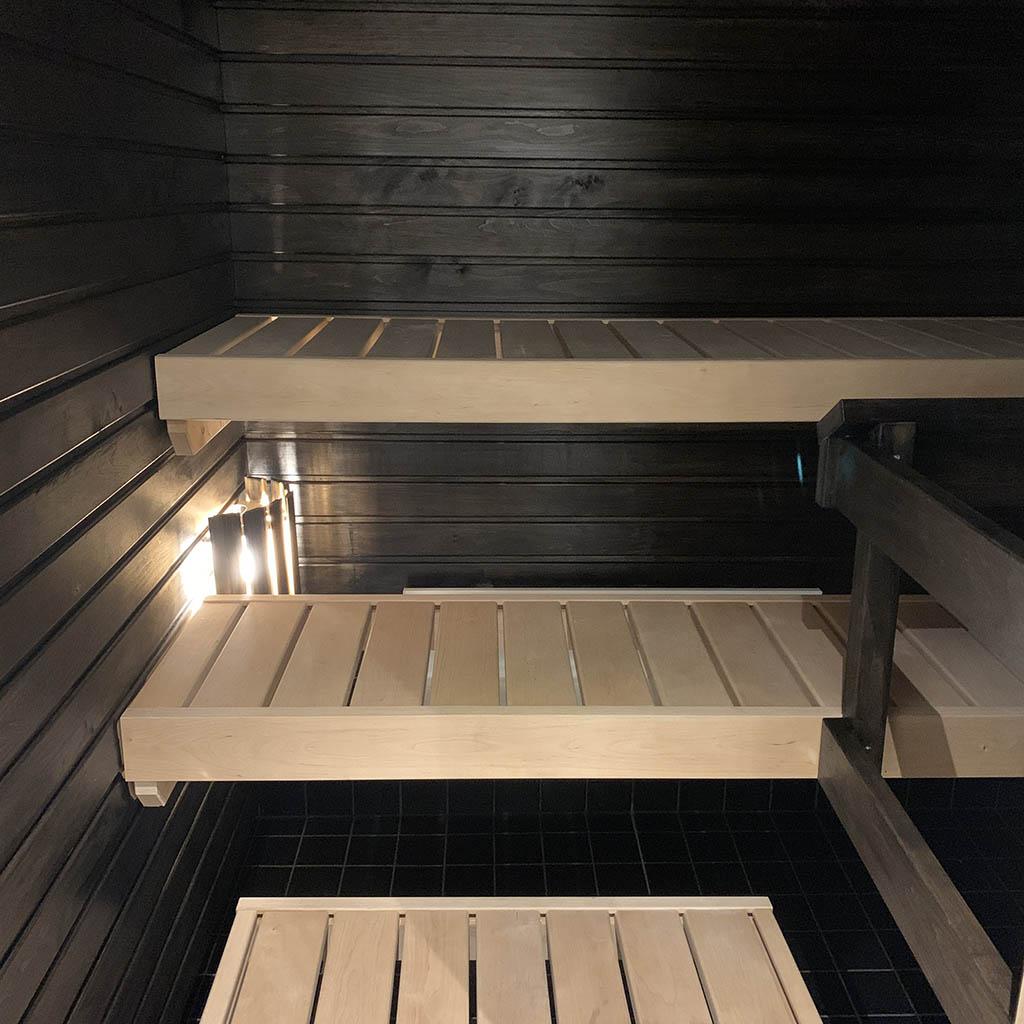 Seinäpaneelien käsittely saunaan - Teknos Satu saunavaha